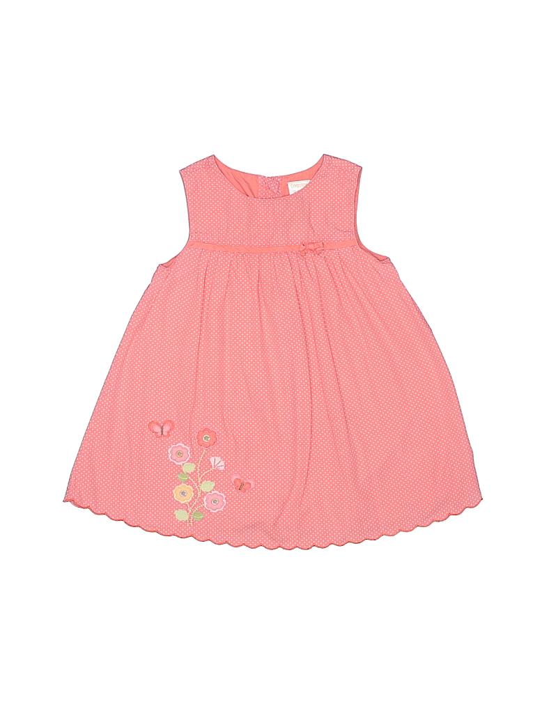853aaa4b9 Gymboree 100% Cotton Polka Dots Coral Dress Size 12-18 mo - 87% off ...