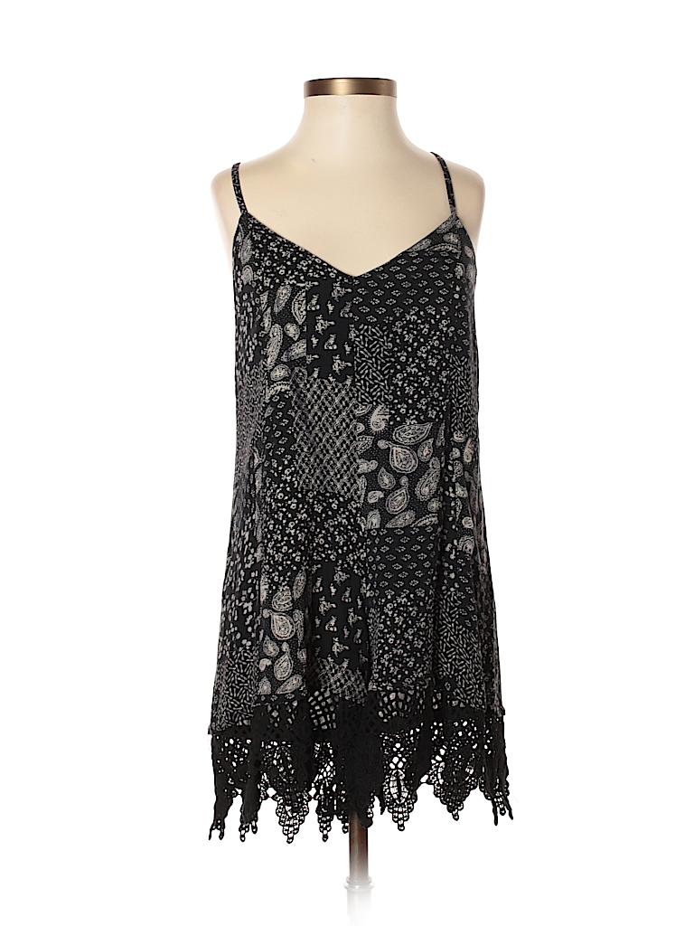 c4464b81e27d Ecote 100% Cotton Lace Paisley Black Romper Size XS - 81% off