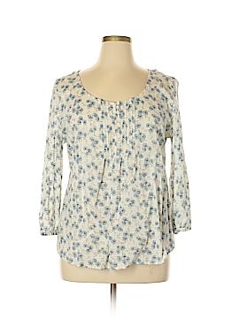L-RL Lauren Active Ralph Lauren 3/4 Sleeve Henley Size XL