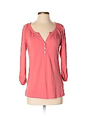 Polo Jeans Co. by Ralph Lauren Women 3/4 Sleeve Henley Size S