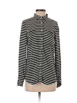 J. Crew Factory Store Long Sleeve Silk Top Size XS