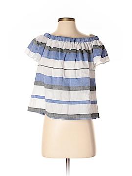 Max Studio Short Sleeve Blouse Size S