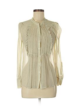 Joie Long Sleeve Silk Top Size M