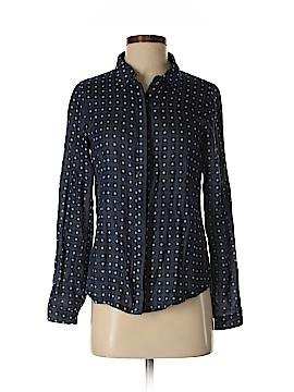 Jun & Ivy Long Sleeve Button-Down Shirt Size S