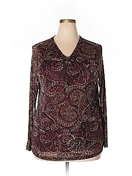 Avenue Long Sleeve Blouse Size 18 (Plus)