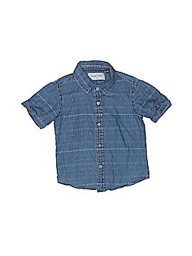 Sovereign Code Short Sleeve Button-Down Shirt Size 24 mo