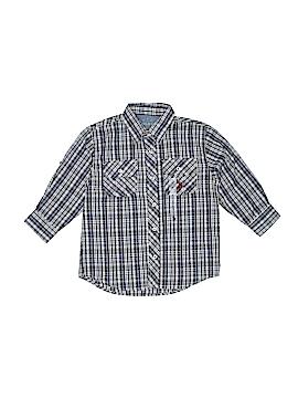 U.S. Polo Assn. Long Sleeve Button-Down Shirt Size 4