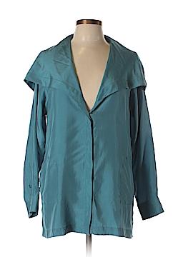 Max Mara Long Sleeve Silk Top Size 8