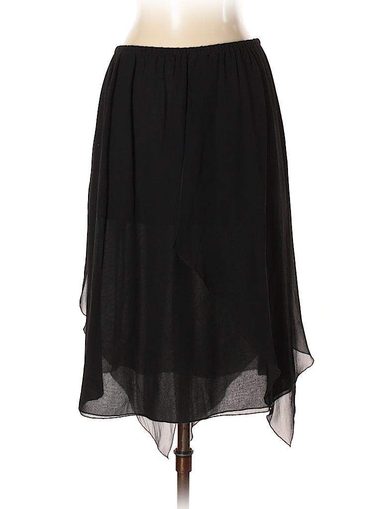 Blumarine Women Silk Skirt Size 40 (IT)
