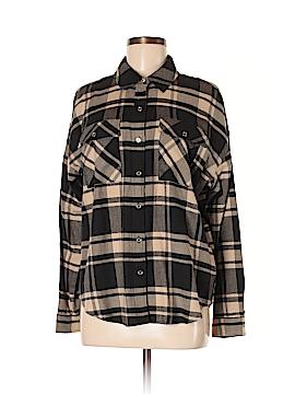 MICHAEL Michael Kors Long Sleeve Button-Down Shirt Size M
