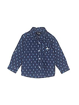 LRG Long Sleeve Button-Down Shirt Size 12 mo