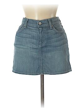 7 For All Mankind Denim Skirt Size 4