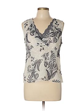 Rafaella Sleeveless Button-Down Shirt Size 10