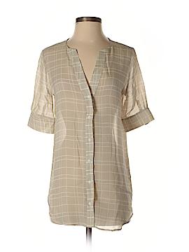 Kain Label Short Sleeve Silk Top Size P