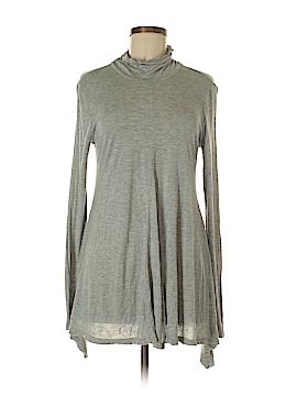 Joan Vass Long Sleeve Top Size S