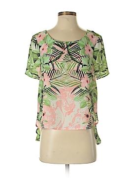 Rose & Olive Short Sleeve Blouse Size S