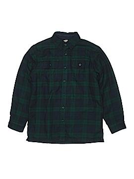 L.L.Bean Long Sleeve Button-Down Shirt Size 10-12