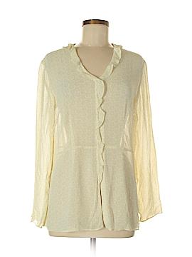 J.jill Long Sleeve Blouse Size 8