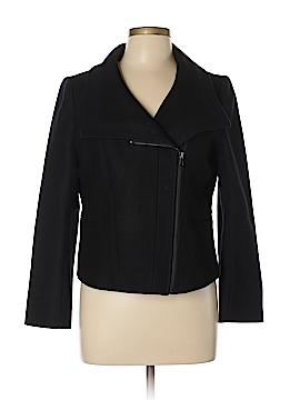 Ann Taylor Wool Coat Size 12 (Petite)
