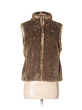 Ann Taylor LOFT Faux Fur Vest Size 8