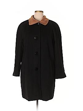 Ellen Tracy Wool Coat Size 1X (Plus)