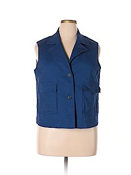 Anne Klein Tuxedo Vest Size 16