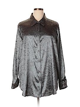 Cervelle Long Sleeve Blouse Size 2X (Plus)