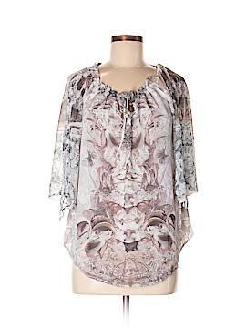 Energe World Wear Short Sleeve Blouse Size M