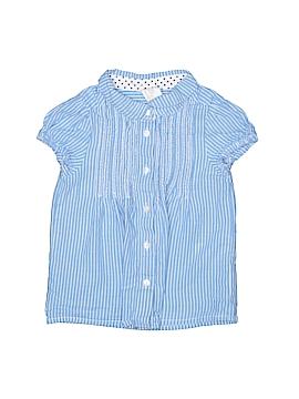 H&M Short Sleeve Button-Down Shirt Size 12-18 mo