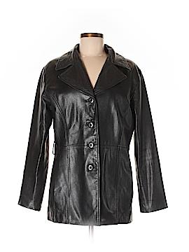 Pelle Studio Faux Leather Jacket Size M