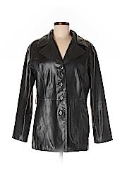 Pelle Studio Women Faux Leather Jacket Size M