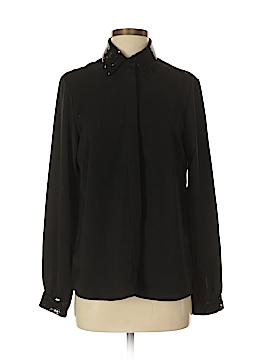 Liz Claiborne Long Sleeve Button-Down Shirt Size S