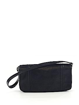 Ellen Tracy Leather Shoulder Bag One Size
