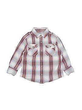 Ruff Hewn Long Sleeve Button-Down Shirt Size 2T
