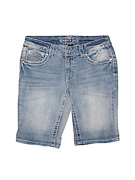 Paisley Sky Denim Shorts Size 4