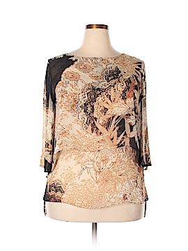 Alberto Makali 3/4 Sleeve Blouse Size XL