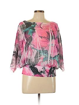 Signature Studio 3/4 Sleeve Blouse Size M