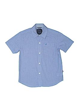 Nautica Short Sleeve Button-Down Shirt Size 7X