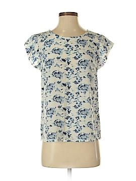Cynthia Rowley for T.J. Maxx Short Sleeve Silk Top Size XS