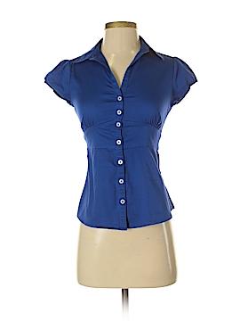 Banana Republic Factory Store Short Sleeve Button-Down Shirt Size 0