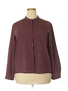 Frenchi Long Sleeve Blouse Size XL