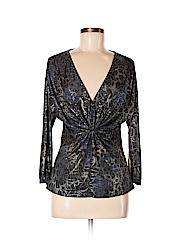 Alberto Makali Women Long Sleeve Blouse Size M