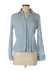 Apt. 9 Women Long Sleeve Blouse Size S (Petite)