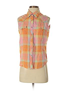 Twenty X Sleeveless Button-Down Shirt Size S