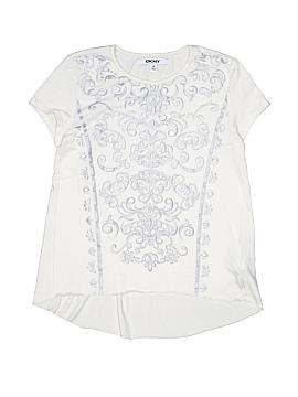 DKNY Short Sleeve Top Size M (Kids)