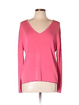 Debra deRoo Silk Pullover Sweater Size L