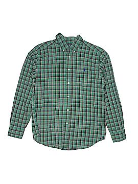 Ralph Lauren Long Sleeve Button-Down Shirt Size L (Youth)