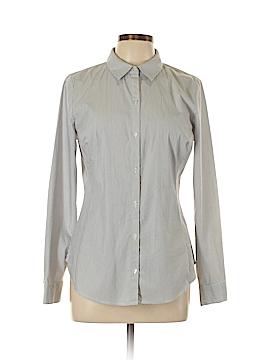 Worthington Long Sleeve Button-Down Shirt Size 10