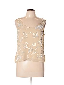 Carlisle Sleeveless Silk Top Size 10
