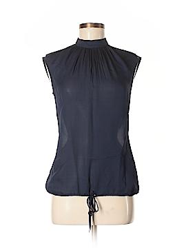 Massimo Dutti Short Sleeve Blouse Size 4